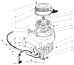 Alternator fan and pulley parts