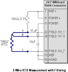 noise filtering rtd readings noise reduction of rtd temperature filtering a 3 wire rtd for better noise immunity