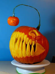 Love this Angler Fish Pumpkin Carving Idea. So creative.