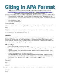 Essay Apa Format Examples Floridaframeandart Com Modern Cv Apa Format Examples How To Write
