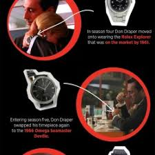the watches of mad men visual ly