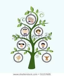 Family Tree Cartoon Family Stock Vector Royalty Free 51157609