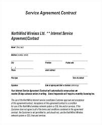 Contract Service Agreement Awesome Service Contract Sample Doc Termination Letter Of Form For Services