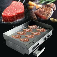 electric countertop grill household commercial griddle hot plate pan stainless steel reviews electric countertop grill