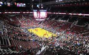 Rose Quarter Seating Chart With Rows Moda Center Seating Chart Seatgeek