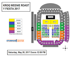 Weenie Roast 2017 Seating Chart Stubhub Seating Chart Weenie Roast Wallseat Co