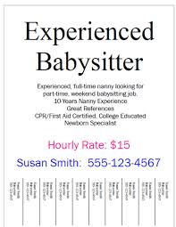 Nanny Job Responsibilities Resume Nanny Ad Sample Tolgjcmanagementco 89
