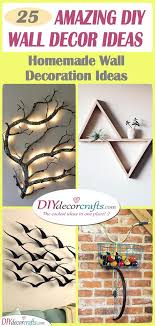 Wall decoration with paper craft step by step procedure take circular cardboard and wool. Diy Wall Decor Ideas Homemade Wall Decoration Ideas
