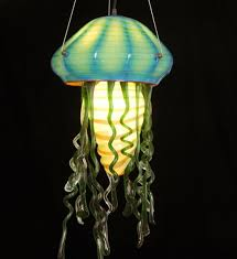 decoration white cloth hone lighting lamps silk fabric jellyfish for jellyfish light fixture renovation
