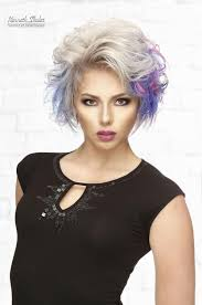 short fine colorful hair 2