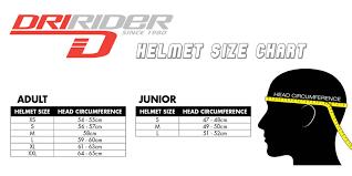 Dririder Jacket Size Chart Dririder Sizing Charts Motorcycle Stuff