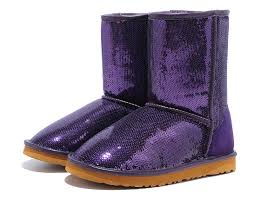 ugg classic short sparkles boots purple 3161 black friday