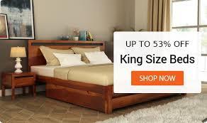 Wooden bed furniture design Solid Wood Bedroom Furniture Wooden Street Wooden Bedroom Furniture Buy Bedroom Furniture Online Upto 55 Off