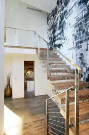 Artful Display of Lines and Japanese Influences: Project 355 Mansfield in  California. Wallpaper IdeasGrey WallpaperStaircase ...