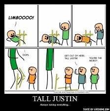 tall justin - Taste of Awesome via Relatably.com