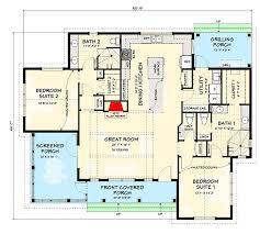 exclusive modern farmhouse plan