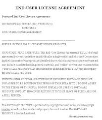 Software Licence Agreement Template Software License Agreement