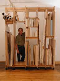 art storage system is made for art storage of paintings drawings art prints