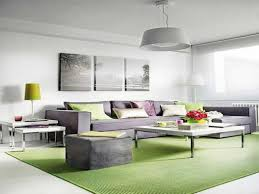 Purple And Green Living Room Green And Grey Living Room Home Design Ideas