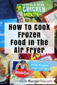 Frozen Food Air Fryer Chart Hd9210 91 Philips Daily
