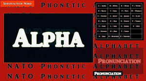 Air traffic controllers, for example, often use the nato phonetic alphabet to communicate with pilots, and this is especially important when they would otherwise be difficult to understand. Learn The Nato Phonetic Alphabet For Emergency Communications Youtube