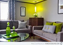 15 Lovely Grey And Green Living Rooms Home Design Lover Inside Lime Green  Living Room Furniture Decor