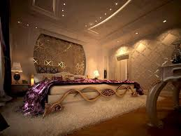 luxury bedroom furniture purple elements. Romantic Bedrooms With Candles And Flowers Impressive Bedroom Decor Luxury Furniture Purple Elements N