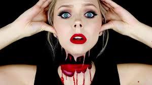 Lovely Headless Halloween Makeup Tutorial   Cosmobyhaley   YouTube
