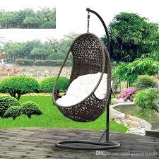 2018 rattan basket rocking chair garden rattan wicker swing chair garden patio outdoor furniture rattan hanging chair outdoor wicker swing chair from