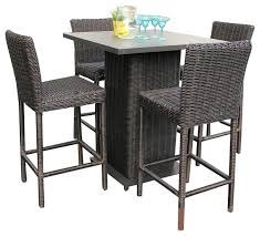 high bistro set outdoor high bistro table set outdoor 7 piece counter height dining mainstays sand