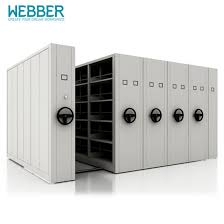 China Hot Sell Metal Modern Mobile Filing Cabinets With