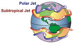 where do jet streams form jet stream wikipedia