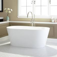 leith acrylic freestanding tub