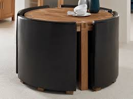 round space saving dining table and chairs sl interior design stunning round space saving dining table