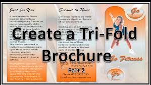 How To Make A Trifold Brochure In Powerpoint Carlynstudio Us