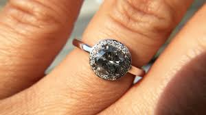 Engagement Ring Trend Alert Salt N Pepper Diamonds