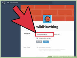 cool ideas for tumblr urls. image titled change your tumblr name step 2 cool ideas for urls m