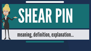 Shear Pin Design Theory What Is Shear Pin What Does Shear Pin Mean Shear Pin Meaning Definition Explanation