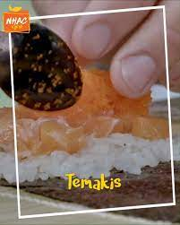Nhac GNT - TEMAKI: aprenda a fazer esse clássico da cozinha japonesa |  Tempero de Família
