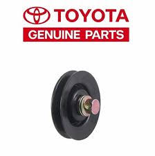 1990 toyota land cruiser in engines components toyota 4runner land cruiser pickup 85 90 a c drive belt idler pulley 8844035010