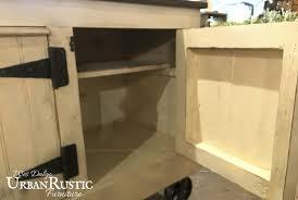 Industrial Kitchen Island Distressed Black Modern Rustic Kitchen Island Cart