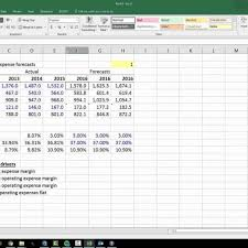 forecast model in excel financial modeling forecasting and analysis using excel with