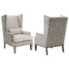 cream accent chair minimalist living room