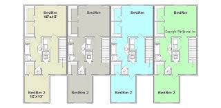 Apartments  Breathtaking Apartment Structures Building Plans 12 Unit Apartment Building Plans