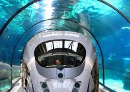 Real Underwater Train Set For Travel Mumbaiahmedabad Bullet Inside Beautiful Design