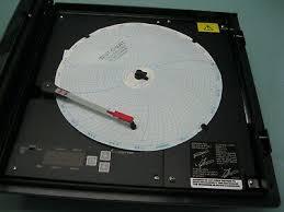 Partlow Mrc 5000 Circular Chart Recorder Partlow Mrc 5000 Series Model 52010011 Chart Recorder New E1