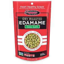Seapoint Farms <b>Dry Roasted Edamame</b> Sea Salt - 4oz : Target