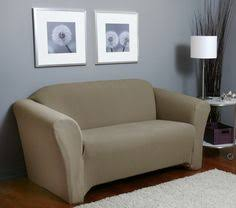 picadilly mink loveseat slipcover soft lush surface beige form fit slip cover upholstery