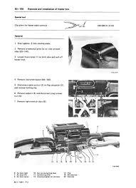 mercedes benz 107 climate control heat ac air condition manuals mercedes benz 107 r107 c107 heat ac climate control manual