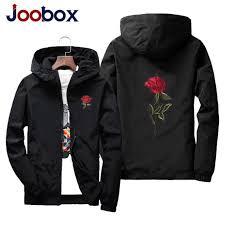 JOOBOX jacket windbreaker men women rose college jackets <b>2018</b> ...
